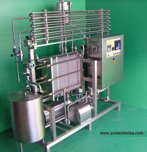 ZOOTECHNIKA HTST milk pasteurizer